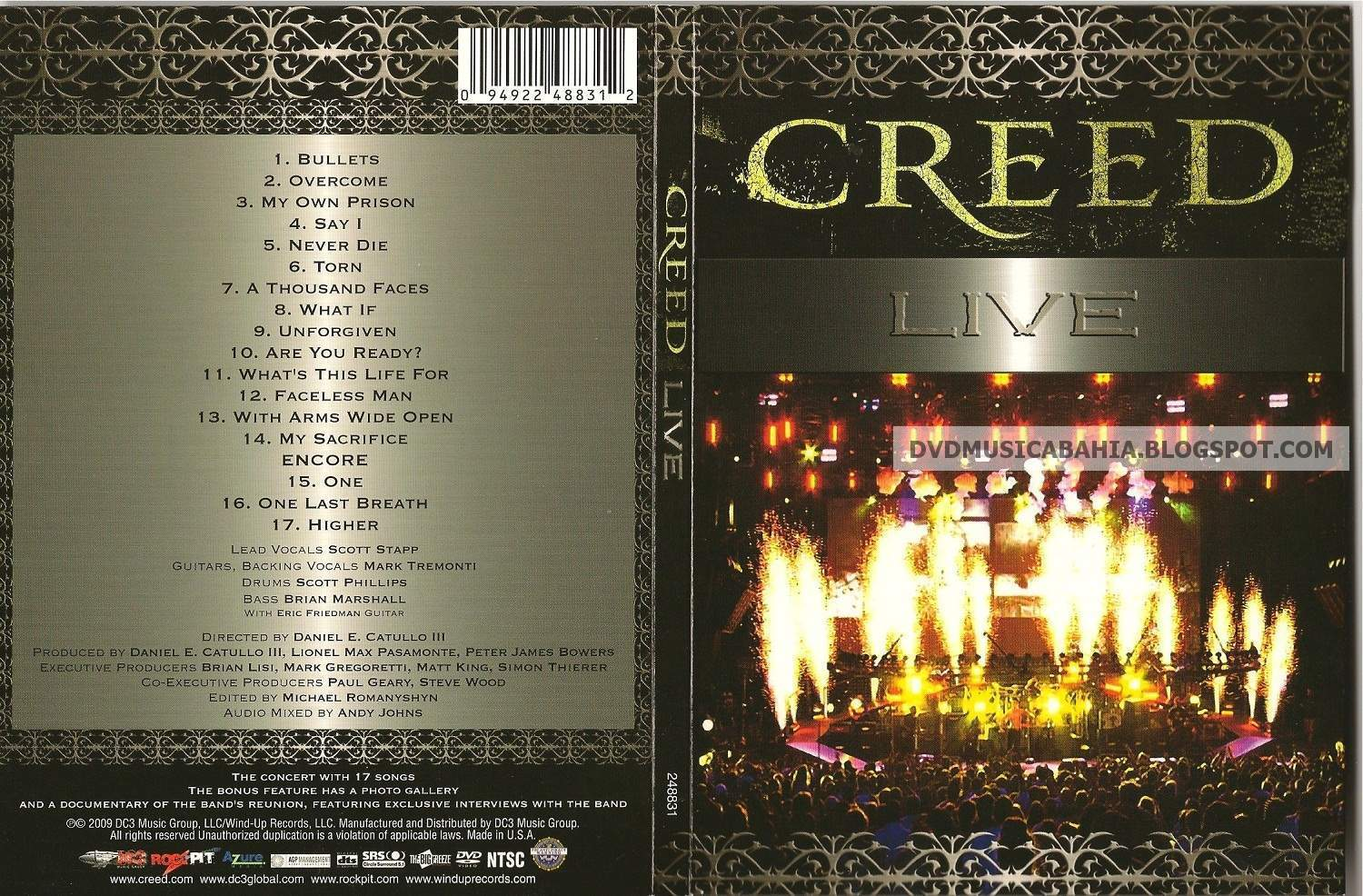 the band creed essay