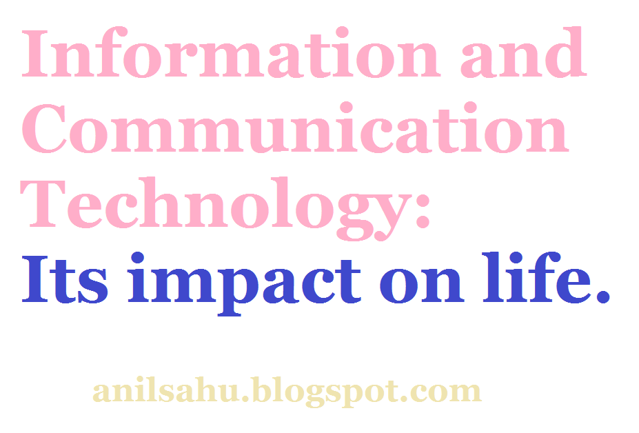 Essay on information and communication technology (India)