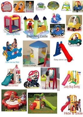 Rental mainan-playland pesta ulang tahun