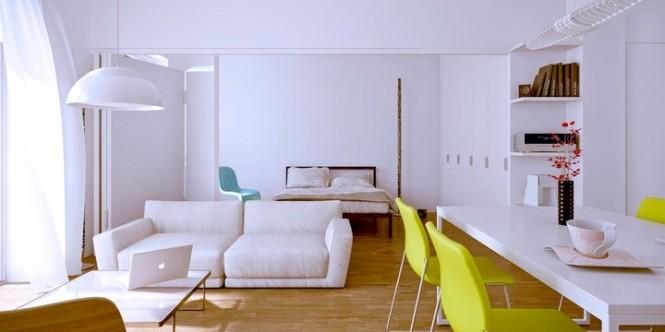 8 formas diferentes de separar ambientes mobles guillen blog - Puertas correderas para separar ambientes ...