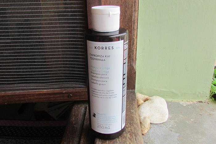 Shampoo Korres Cabelos Oleosos