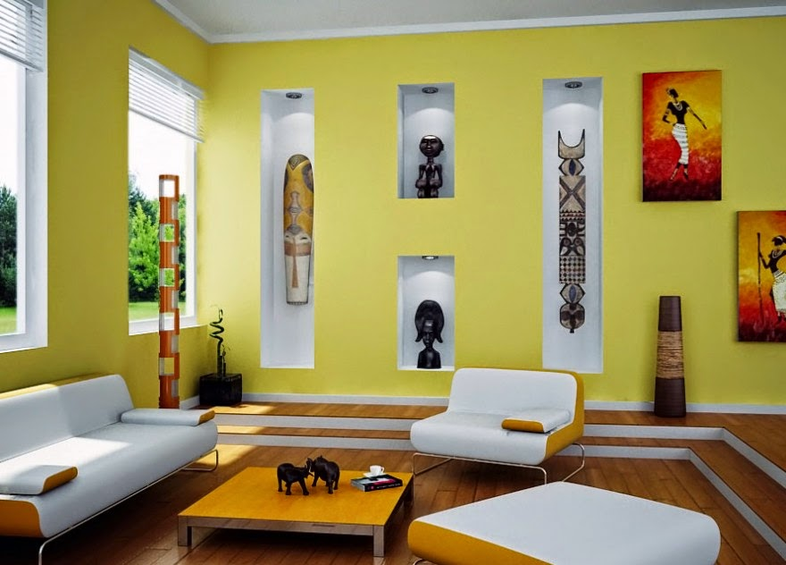 Superbe Innovative Sofa Set Design Plus Low Coffee Table And Sculpture Display Feat Charming  Living Room Colour Ideas