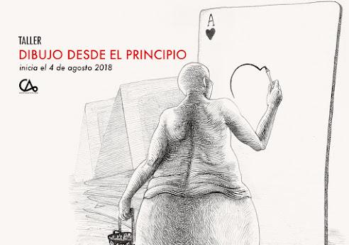 DIBUJO DESDE EL PRINCIPIO // 4 de agosto