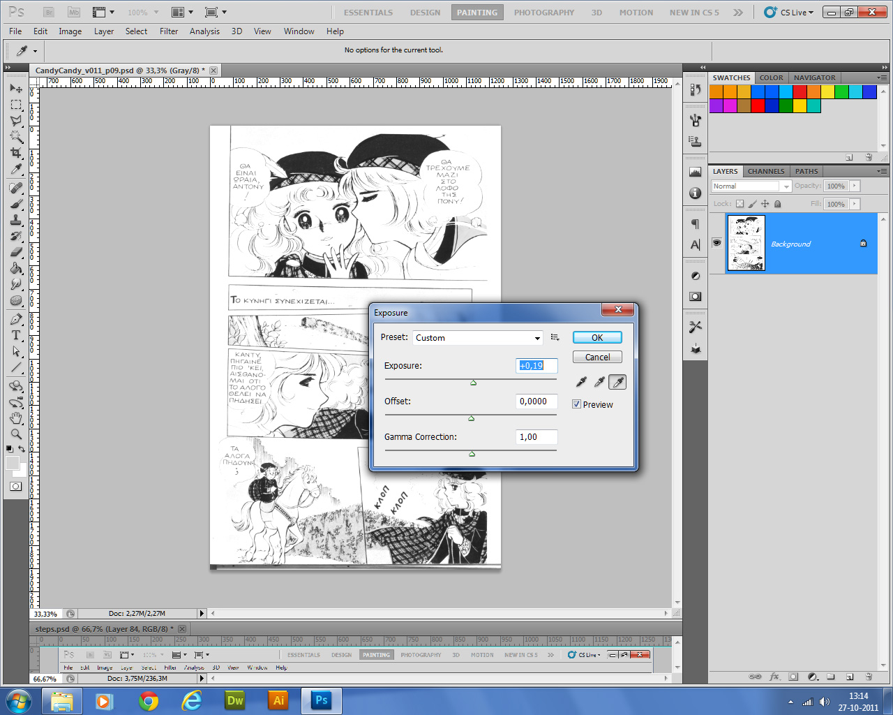 04-color, desaturar y colorear comics | CandyTutoriales