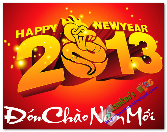 Tin nhắn chúc mừng năm mới 2013 cực đẹp
