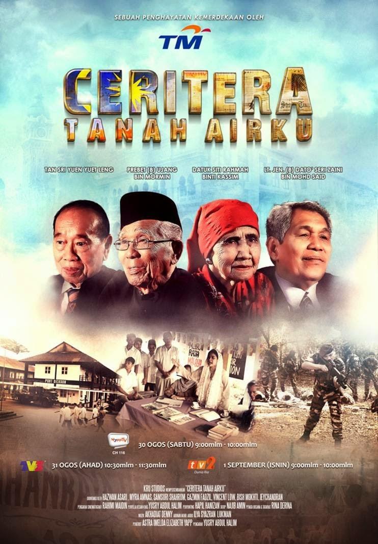 Saksikan 'Ceritera Tanah Airku' di HyppTV, TV3 dan TV2!