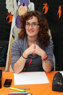 Elisa Ferrari a Lucca Comics 2012