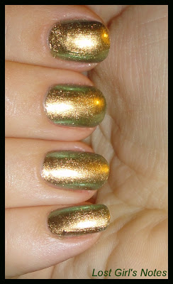 chanel peridote nail polish