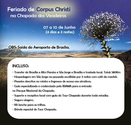 Corpus Christi 2012 na Chapada dos Veadeiros