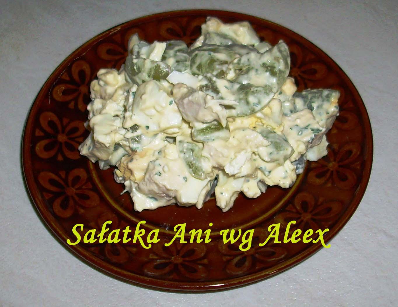 W Mojej Kuchni Sałatka Ani Wg Aleex