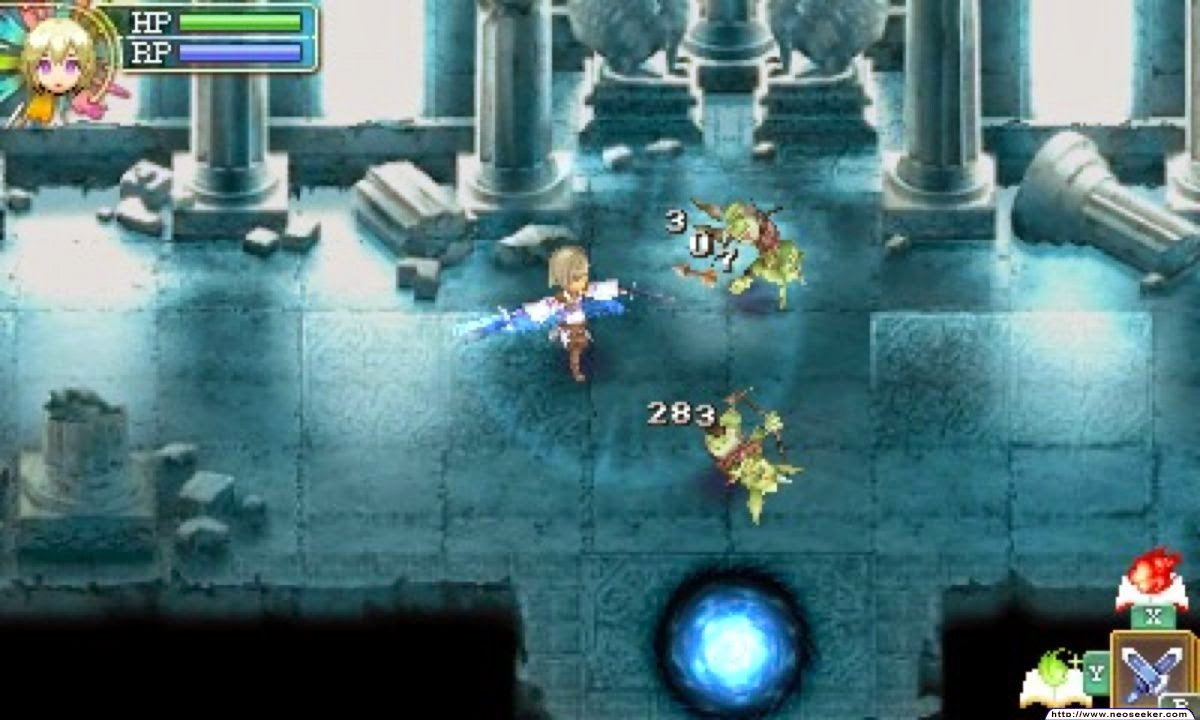 3DS Rune Factory 4 Screenshot
