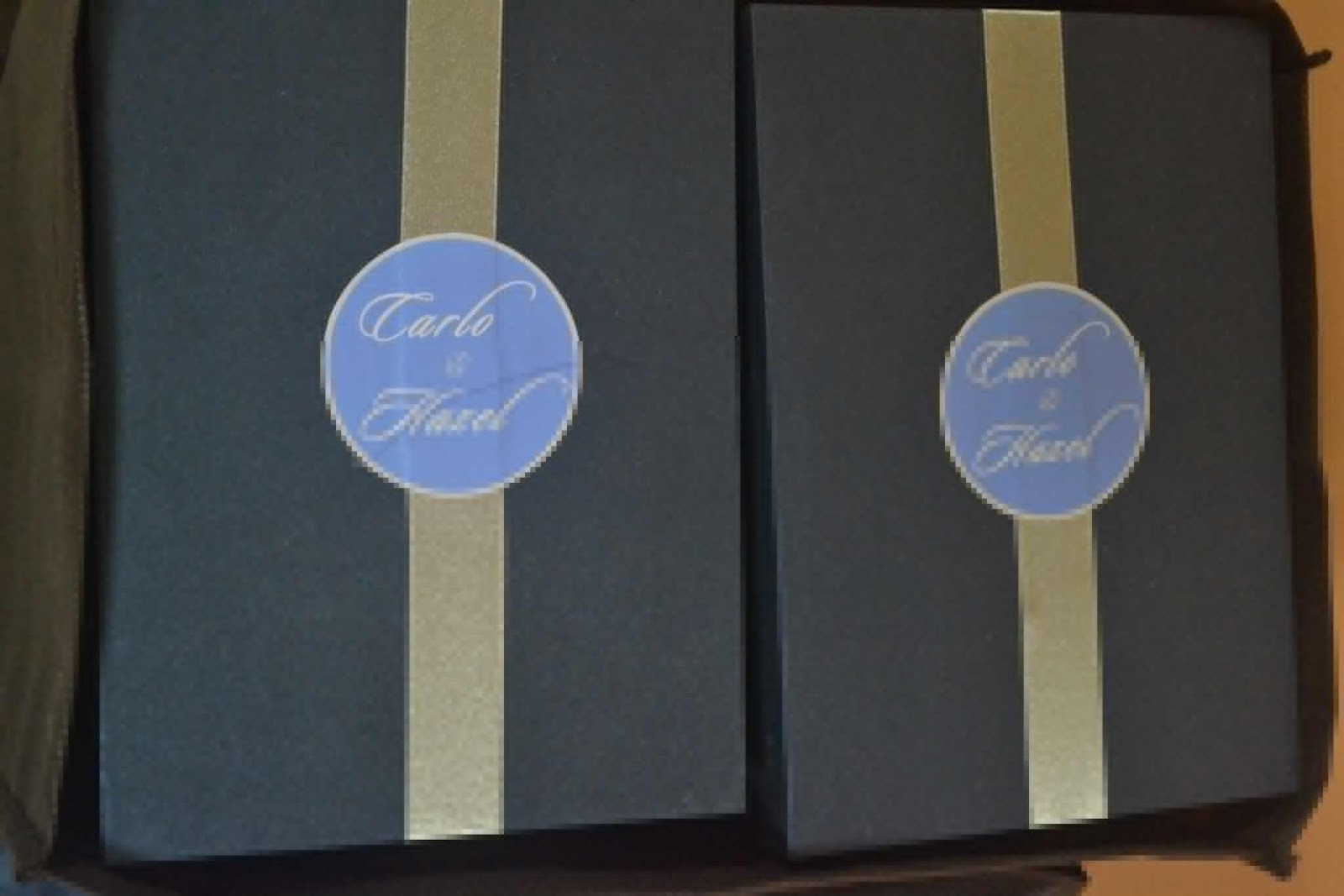 Wedding Favor Ideas For Principal Sponsors : My Simple Project Wedding: Our Wedding Supplies Done and Delivered