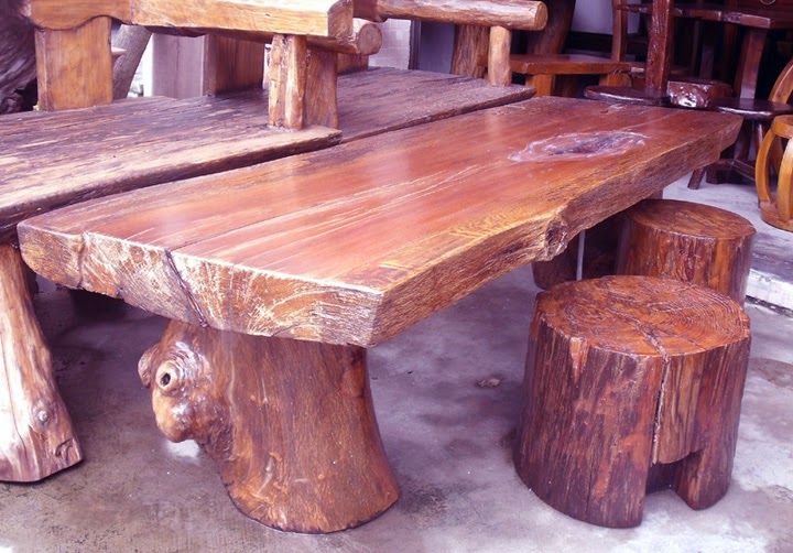 Plan for Wooden Patio Table - AyanaHouse