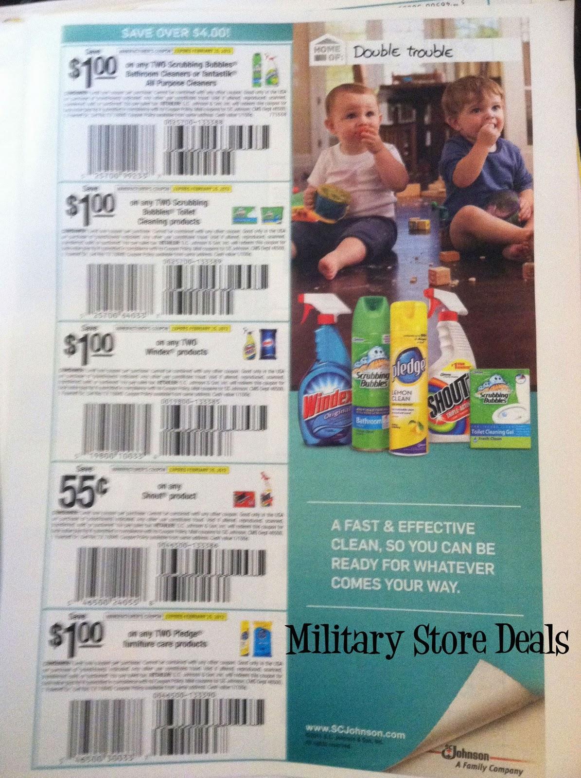 Sc johnson company coupons