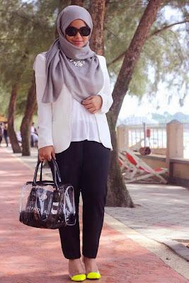Contoh Model Baju Hamil Muslim untuk Kerja Terbaik 2015