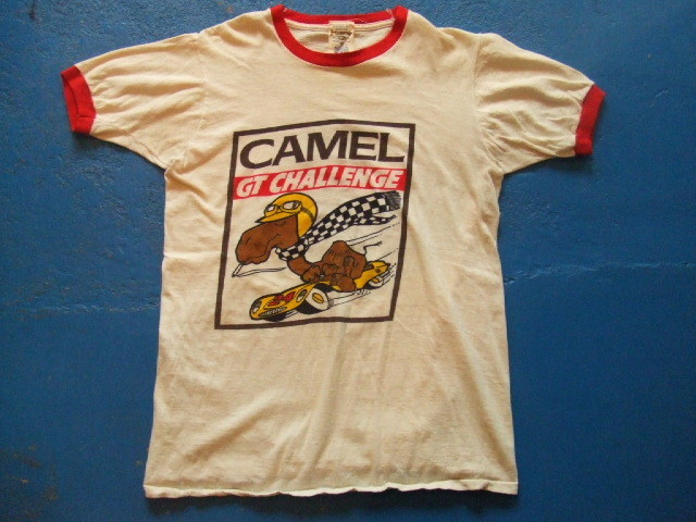 70 39 s camel vintage t shirt vintage t shirt. Black Bedroom Furniture Sets. Home Design Ideas