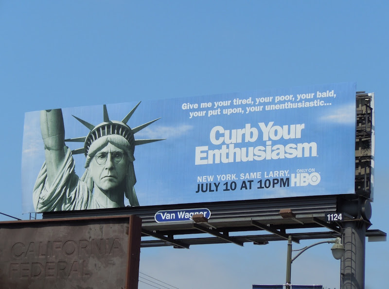 Curb Your Enthusiasm billboard