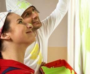 طرق طلاء الشقق الزوجيه الحديثة - الطرق المسخدمة فى طلاء شقق الرعرائس شرح بالصور