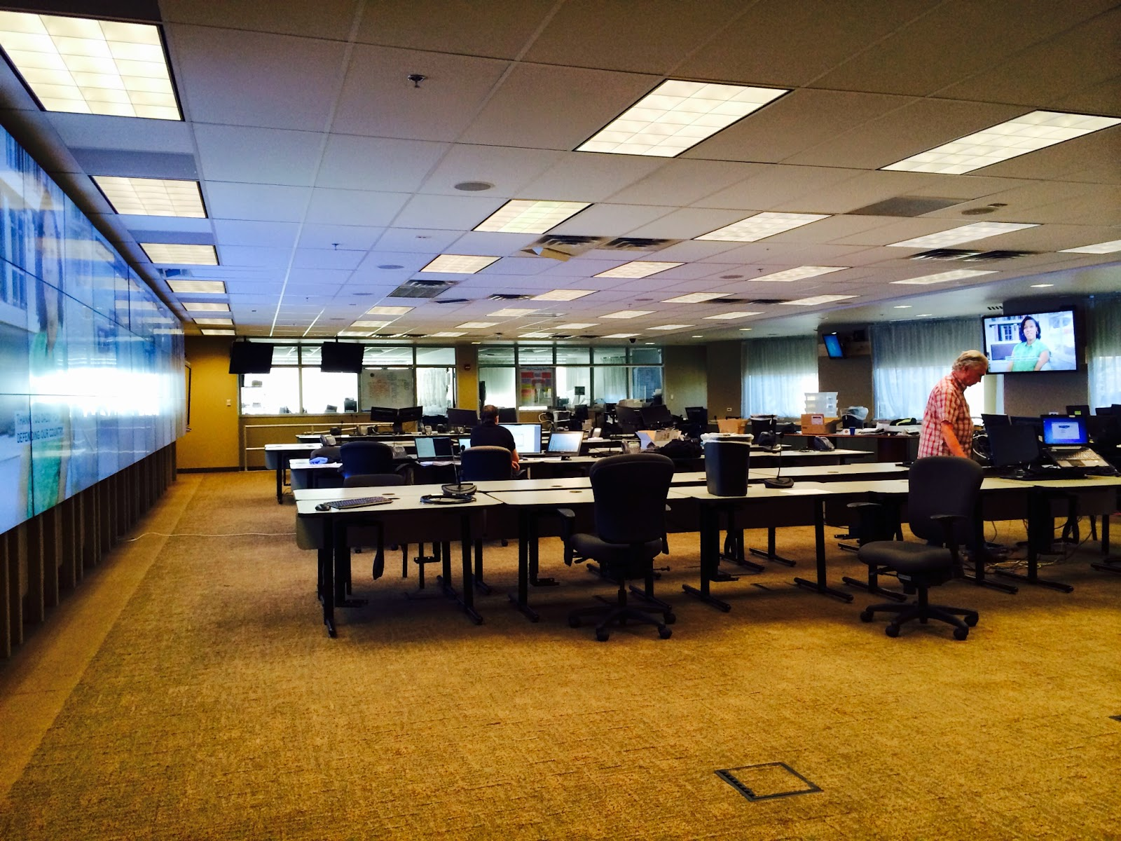 Photo of State EOC after upgrades.