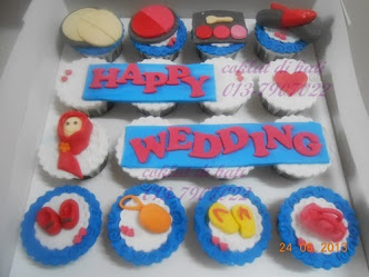 ~ Fondant Cupcakes ~