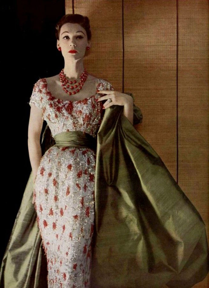 Aloetine from Christian Dior Profilee Autumn/Winter 1952 collection