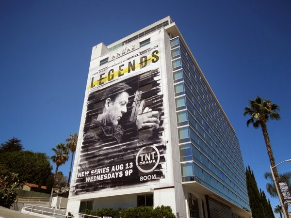 Giant Legends series premiere billboard