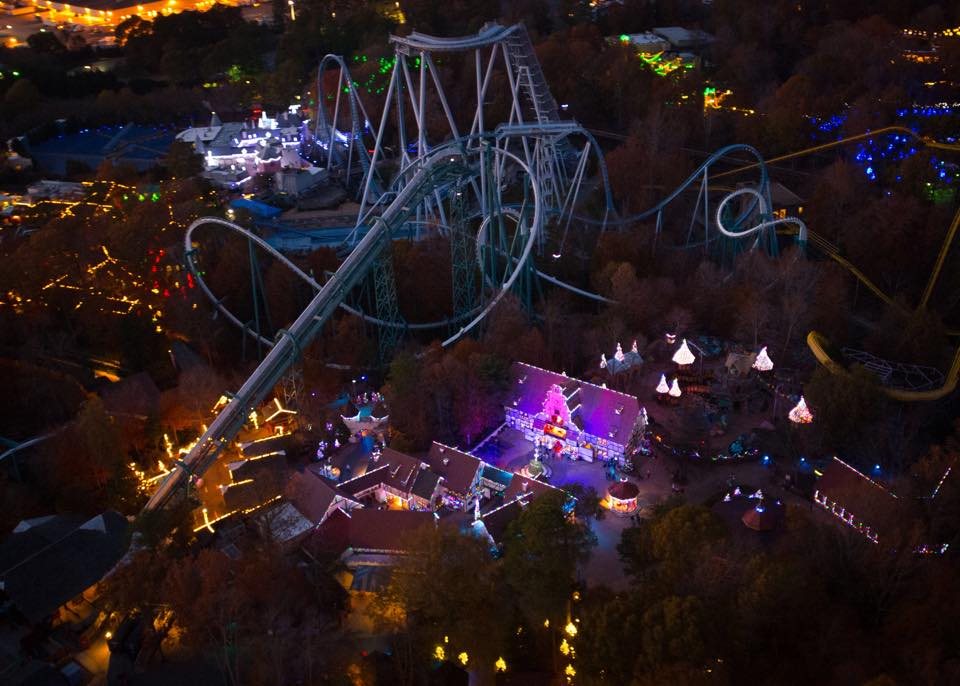 Newsplusnotes vertical construction of busch gardens - Busch gardens williamsburg halloween ...