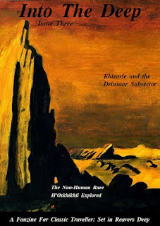 Cover of 'Into the Deep' Issue 3