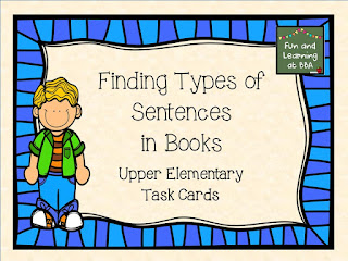 Finding Types of Sentences in Books