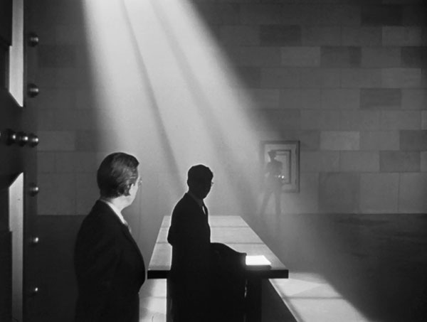 Forced perspective in Citizen Kane