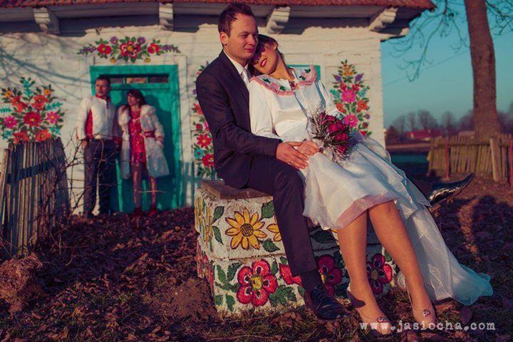 Ślubna marynarka dla Panny Młodej