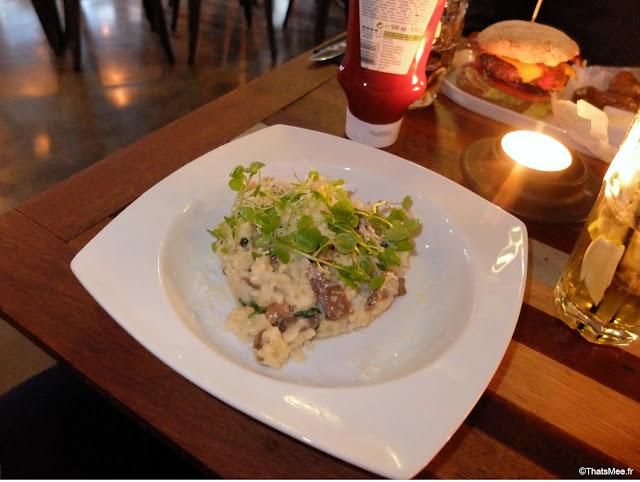 Restaurant Bar Stempel Copenhague risotto