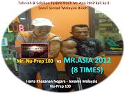 Mr. Asia 2012 Sazali Samad dan Nu-Prep 100 Jenama Malaysia adalah HARTA NEGARA, MALAYSIA BOLEH