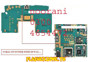 Nokia n95 power switch  diagram hardware solution