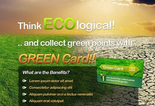 Eco Flyer & Bonus Card