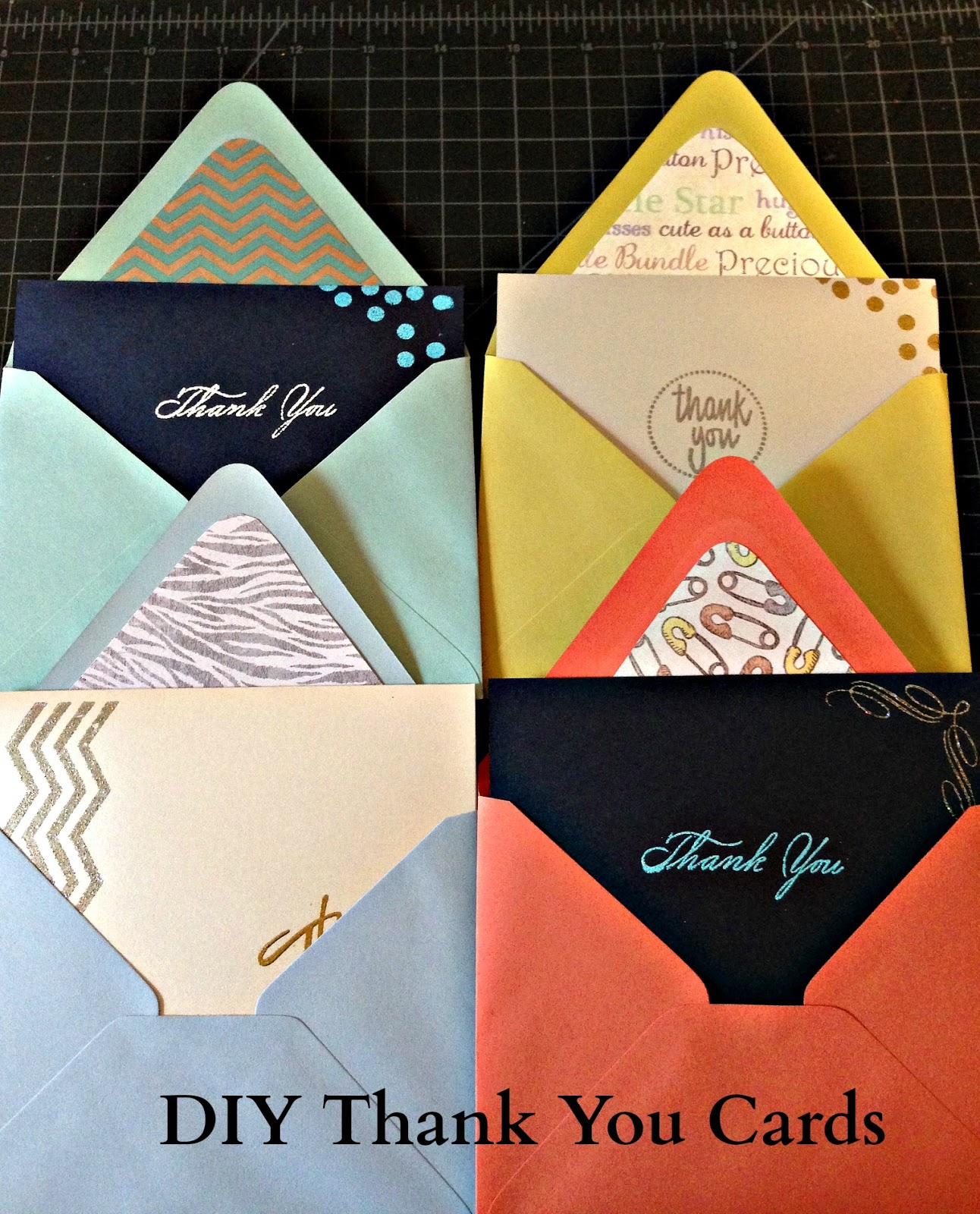 Summertime Crafting Diy Homemade Thank You Cards
