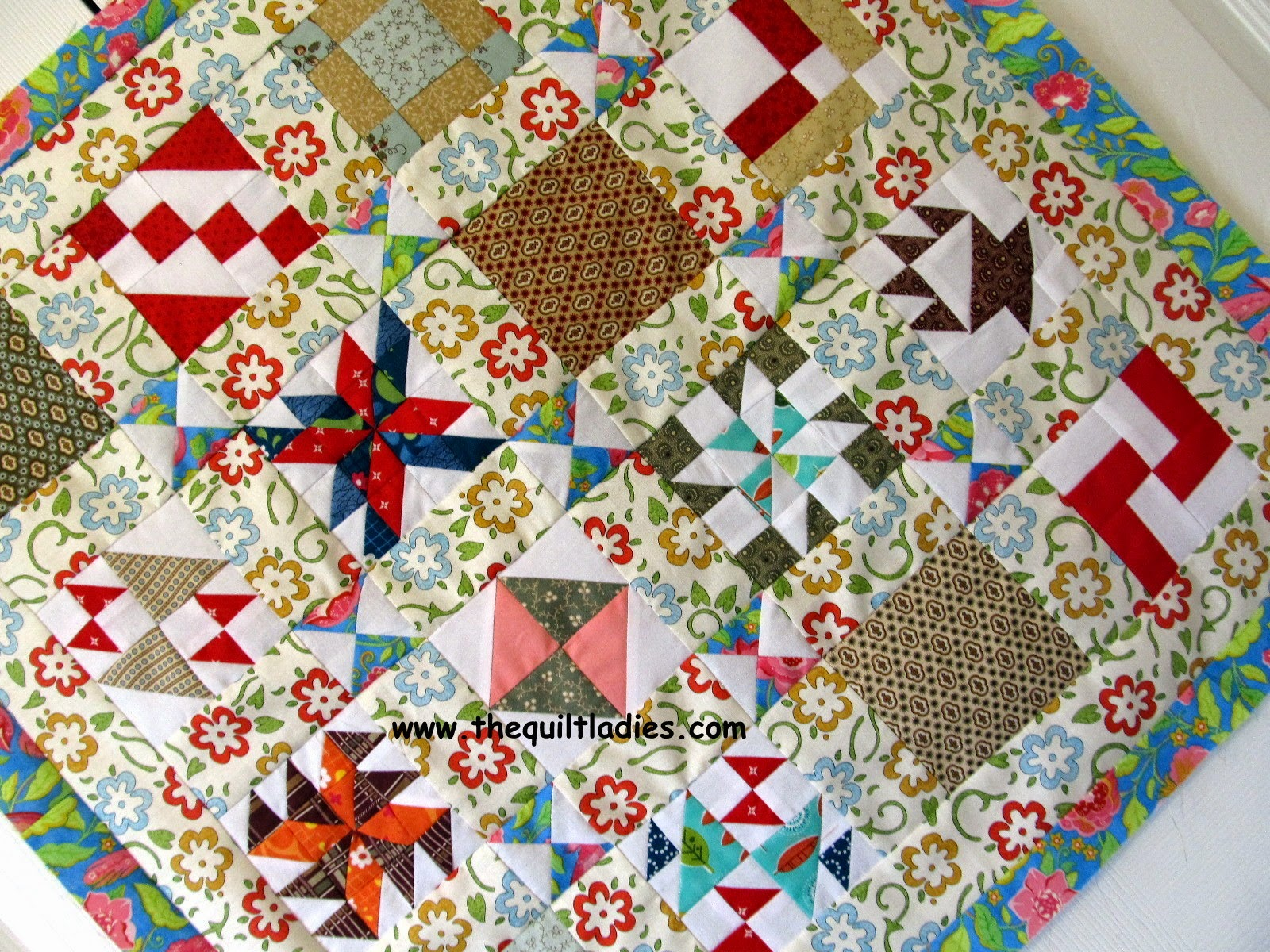 Secret Pal Quilt Pattern by The Quilt Ladies