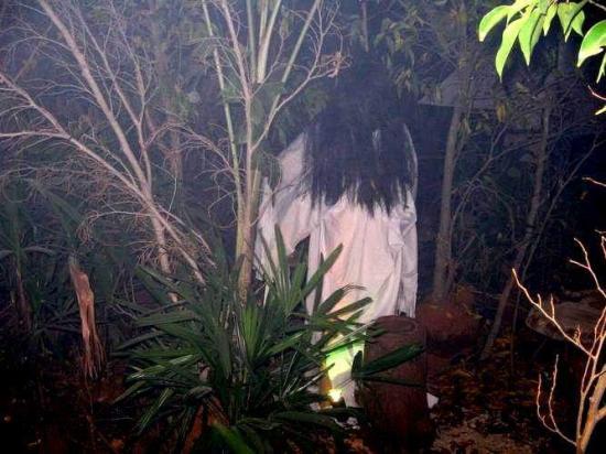 Gambar Hantu Pocong Kuburan