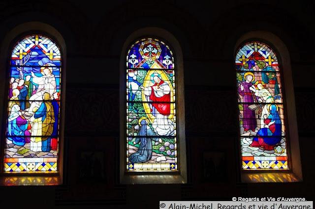 église de saint Eloy les mines puy de dôme, 63