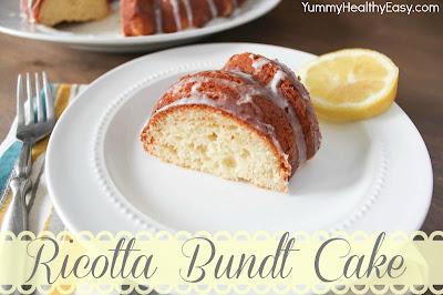 Glazed Ricotta Bundt Cake