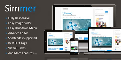 SIMMER Free download Template