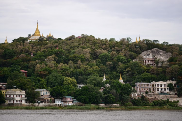birmanie, voyage, photos de voyage, paysages, pagode, irrawaddy