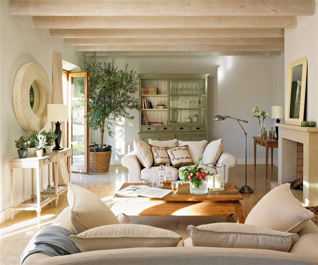 New home interior design country house in spain Country home interior design