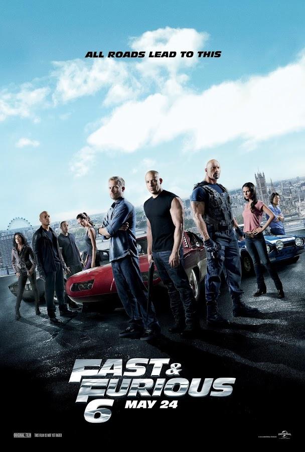 ตัวอย่างหนังใหม่ : Fast & Furious 6 (เร็วแรงทะลุนรก 6) ตัวอย่างที่ 2 ซับไทย poster