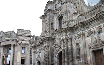 Iglesia de la Compania de Jesus - Quito