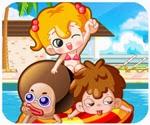 Game tắm nắng ngày hè