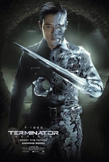 Byung-hun Lee T-1000 liquid Terminator Genisys movie poster wallpaper image screensaver picture