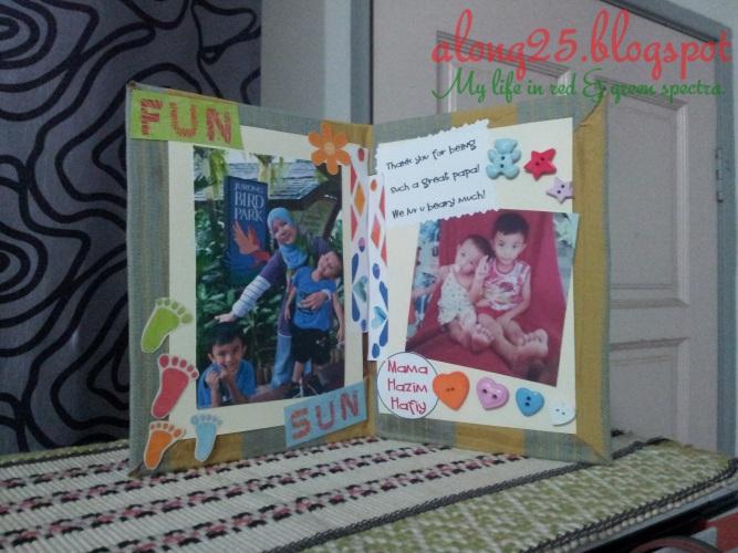 blog along25 cara-cara buat kad murah budget personal diy card happy father's day selamat hari bapa ayah abah papa abi walid tutorial seni art kreatif