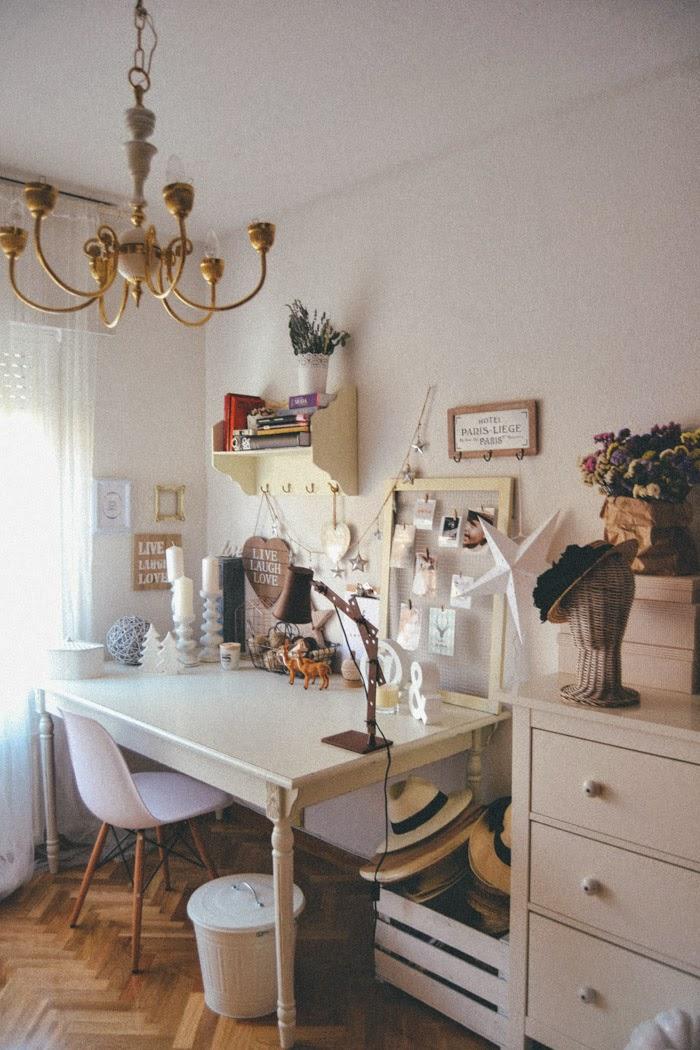 Mi espacio de trabajo en casa