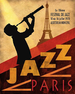 Poster Jazz Paris
